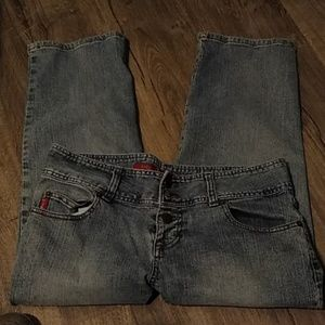 MUDD Capri chic jeans- 11
